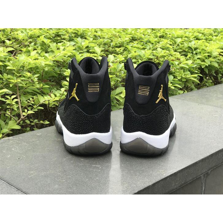 really comfortable quality fast delivery 2018 Air Jordan 11 PRM Heiress Black Stingray