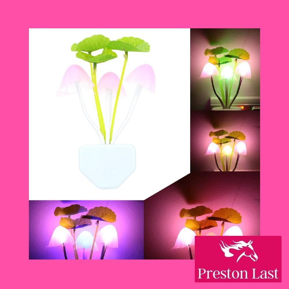Lampu Kamar Tidur LED Jamur Avatar Murah Anak Warna Warni