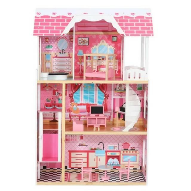 Mainan Anak Rumah Rumahan Barbie Model Terbaru Bonus Boneka Mainan Dalam Rumah Shopee Indonesia