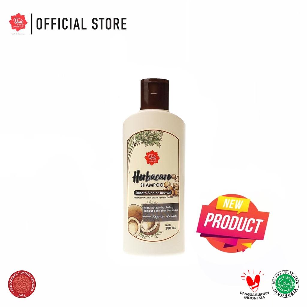 Viva Herbacare Shampoo - 180ml (tersedia 3 variant)-Smooth & Shine Re