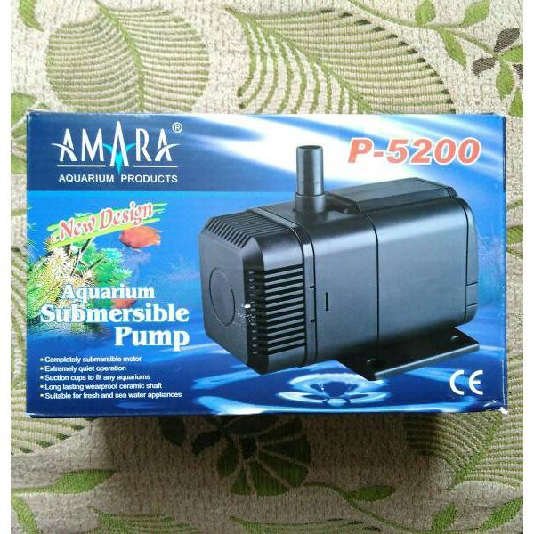 Submersible Pump AMARA P-5200, Pompa Celup Air Nutrisi Hidroponik, Aquaponik, Kolam Ikan, Aquarium | Shopee Indonesia