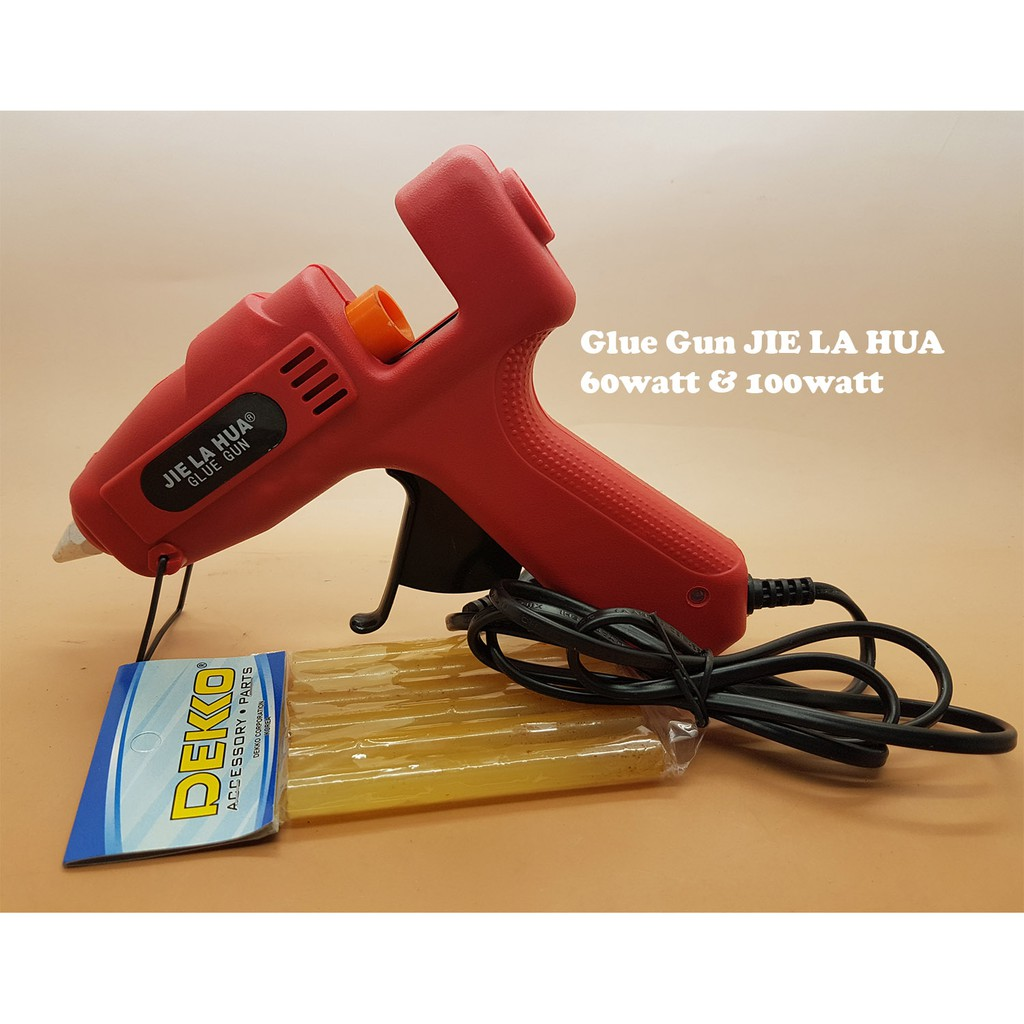 TOHO 10 watt Mini Hot Glue Gun Lem Tembak Bakar Professional bosch | Shopee Indonesia