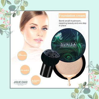 SUNISA Mushroom Head Air Cushion BB CC Cream moisturizing foundation waterproof thumbnail