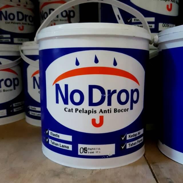 Cat No Drop 20 kg pelapis tembok dinding anti bocor / nodrop waterproof waterproofing paint 25 kg