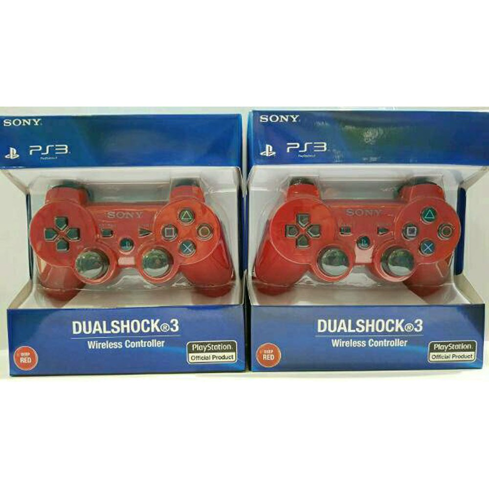 Sony Stick Ps3 Wireless Original Op Biru Daftar Update Harga Stik Ps 3 Pabrik Warna Putih Merah Shopee Indonesia