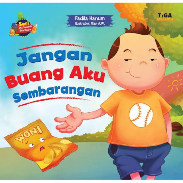 Buku Jangan Buang Aku Sembarangan Shopee Indonesia