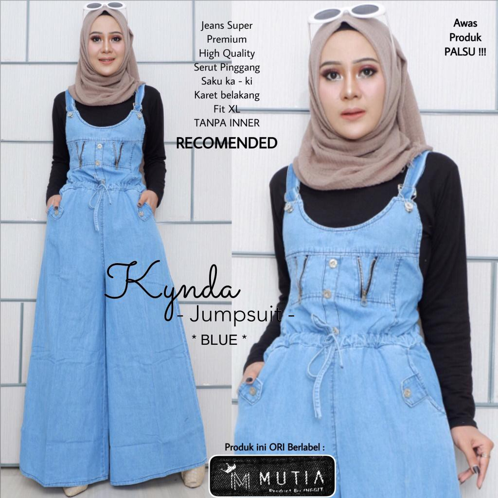 Jual Beli Produk Overall Jumpsuit Pakaian Wanita Rok Jeans 7 8 Drakblue Jsk5012 Allsize Shopee Indonesia