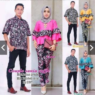 Model Baju Batik Couple Anak Muda Trend 2018 Shopee Indonesia