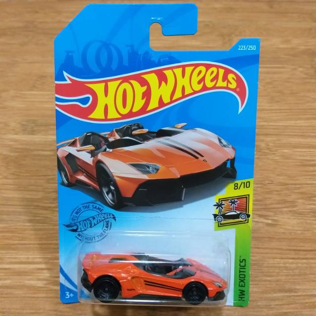 Lamborghini Aventador Orange >> Diecast Hot Wheels Lamborghini Aventador J Roadster Orange 2019 Super Car
