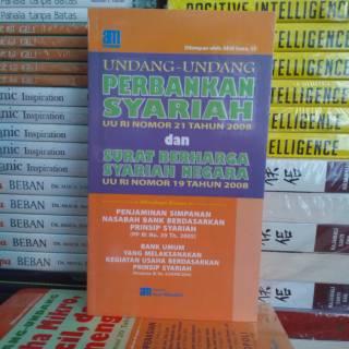 Buku Uu Perbankan Syariah Surat Berharga Syariah Negara