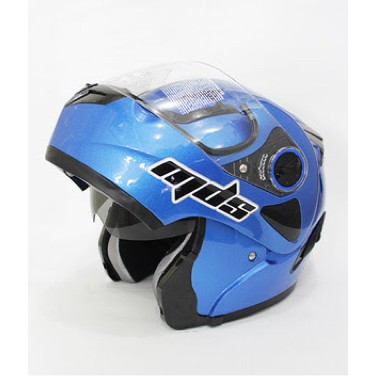 Double Visor Solid Biru Doff Cy Blue - Best Buy .
