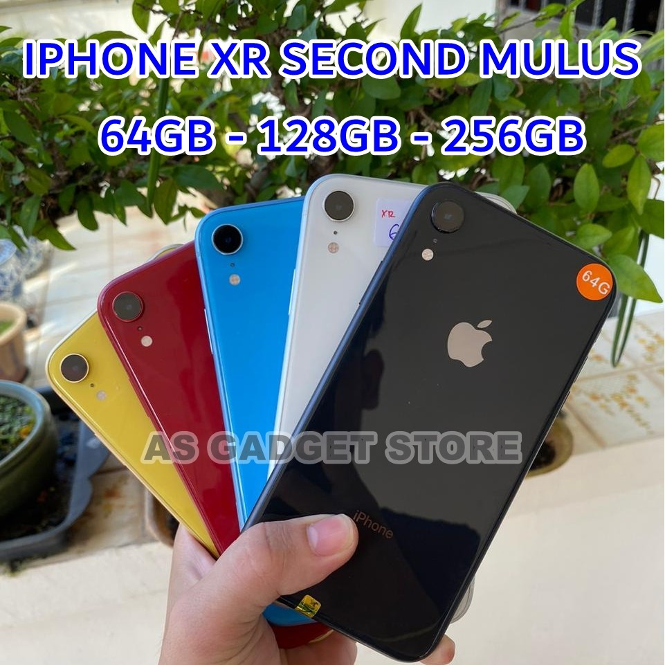 IPHONE XR BEKAS - 64GB & 128GB & 256GB - SECOND MULUS ORIGINAL