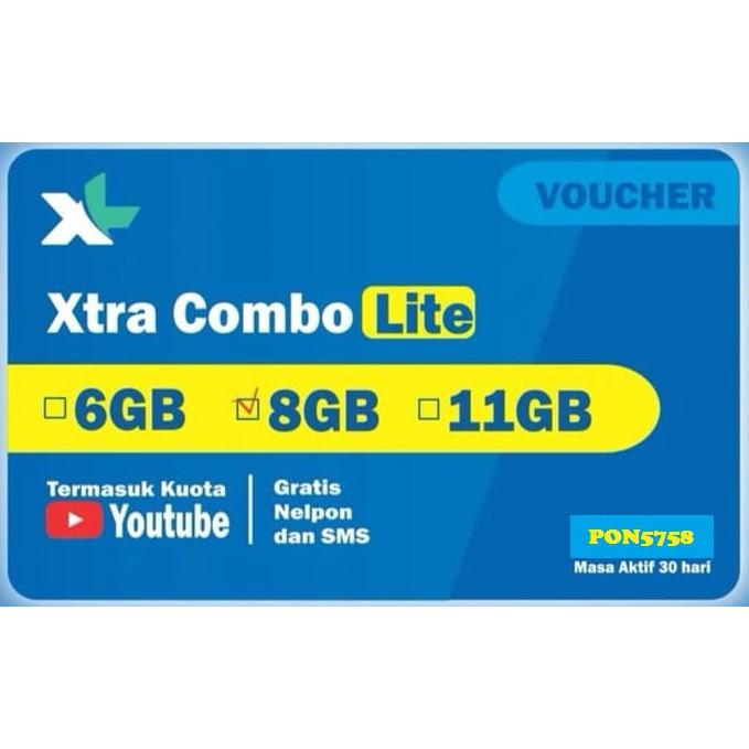 XL COMBO LITE 8GB   Shopee Indonesia