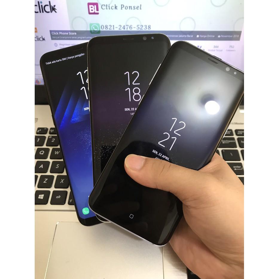 [Handphone Second] Samsung Galaxy S8 Plus S8+ Second Bekas Seken Mulus Fullset HP Bekas
