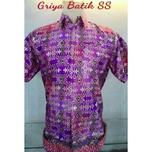 Kemeja Batik Pria Gradation Panjang Slimfit Baju Batik Cowok. Source ... Cowok Kerja