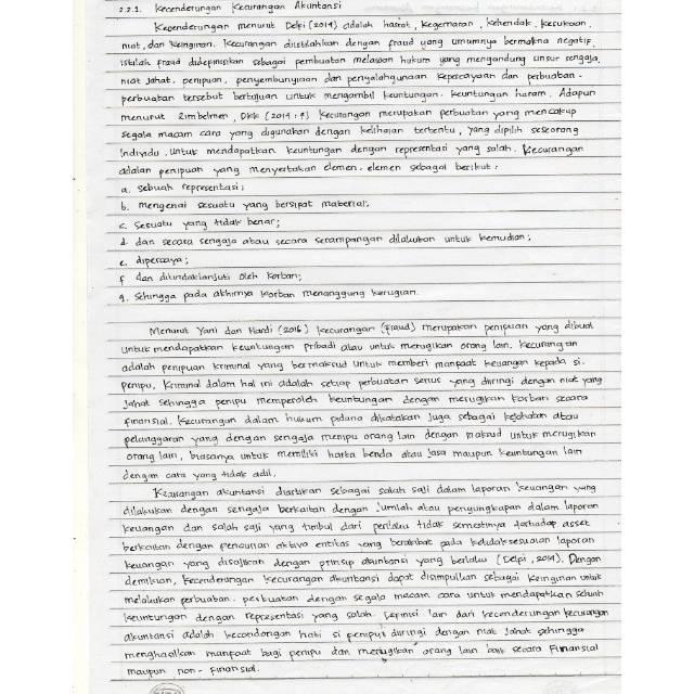 Contoh Makalah Tulis Tangan Contoh Makalah