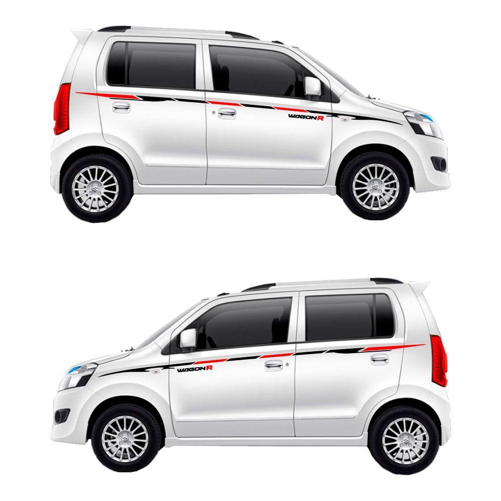 Stiker mobil variasi keren 020 suzuki karimun wagon r sticker body samping lcgc 1 0 dohc shopee indonesia