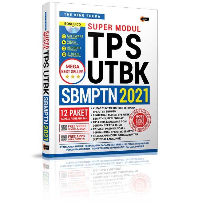Supermodul Tps Utbk Sbmptn 2021 The King Eduka Penerbit Cmedia Shopee Indonesia