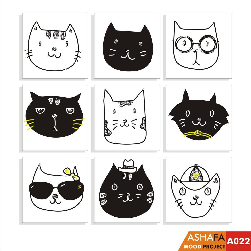 Hiasan Dinding Hiasan Kamar Anak Hiasan Animal Cute Pajangan Hewan Kartun Pajangan Kucing A022 Shopee Indonesia