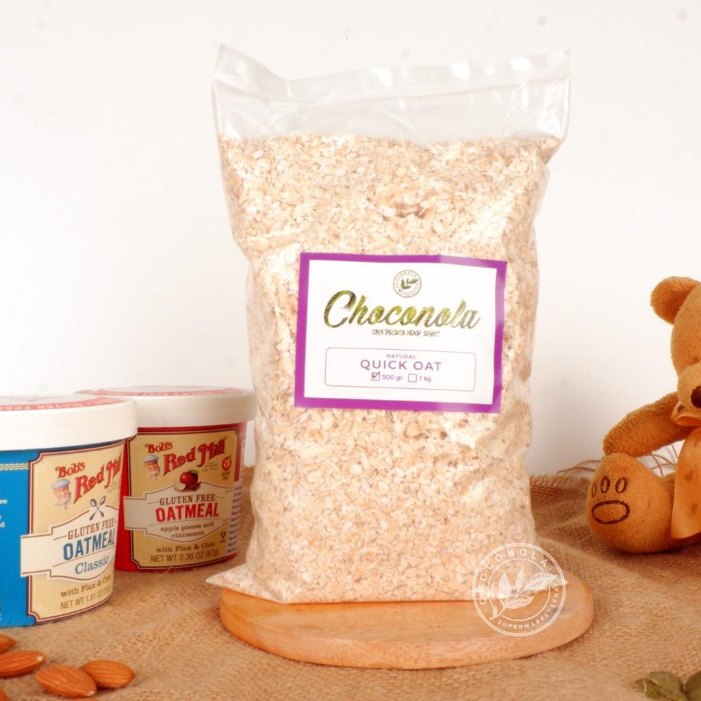Quick Rolled Oats 500g (Instant Oat Seduh / Havermout 500gr   500 g gr gram)   Shopee Indonesia