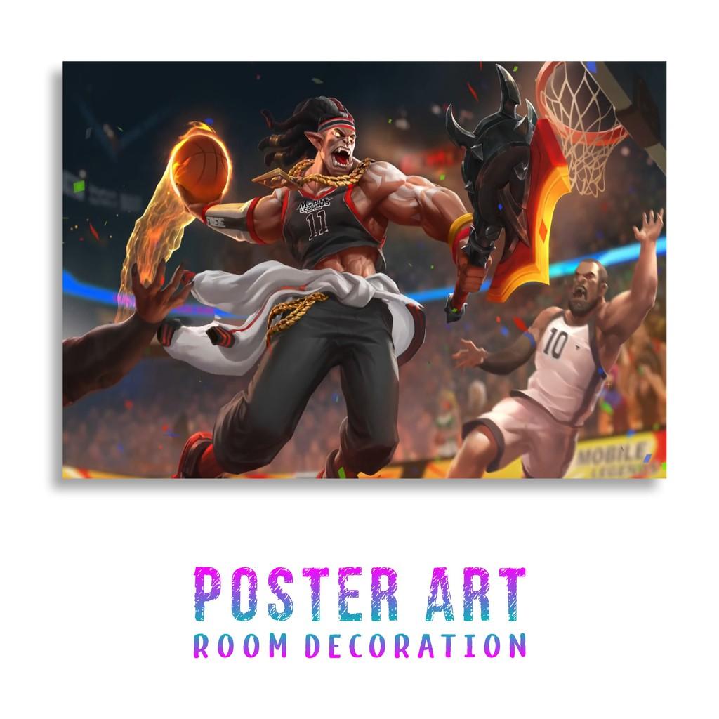 Poster Mobile Legends Balmond Savage Pointguard