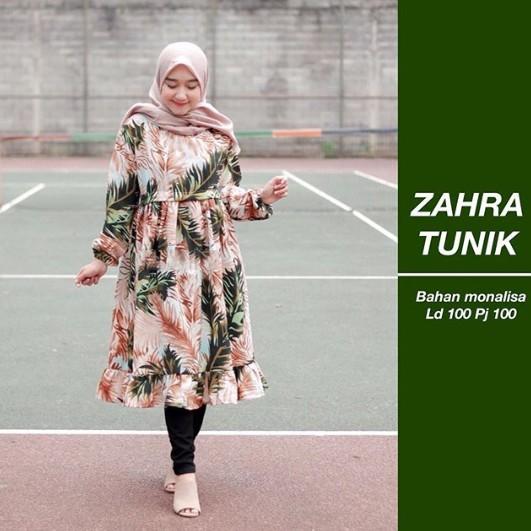 ZAHRA TUNIK // Saritiw// sabyan monalisa