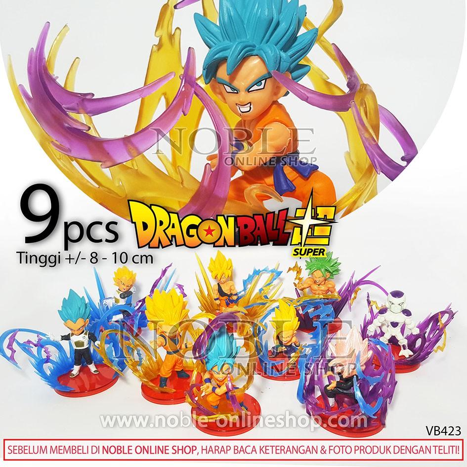 Dragon Ball Super Saiyan Figure Power Hero Goku Toys Hobi Koleksi Mainan Anime Toys Pajangan Keren