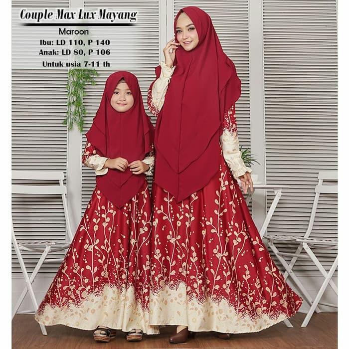 Couple Ibu Anak Fashion Muslim Gamis Temukan Harga Dan Penawaran