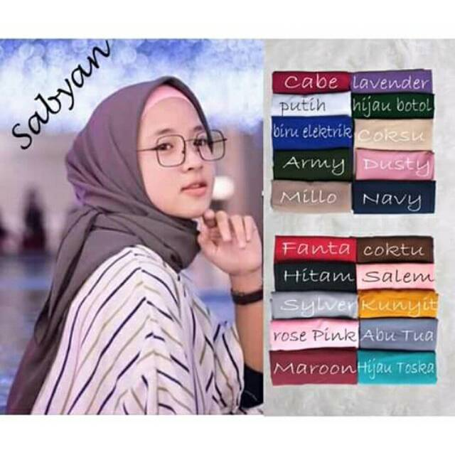 Pashmina Sabyan Shopee Indonesia