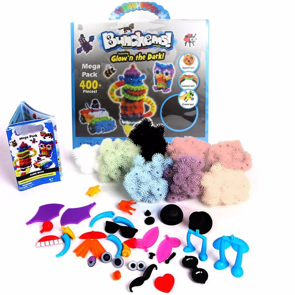 Toylogy Mainan Kreatifitas Bongkar Pasang Bunchems Mega Pack 400 Pc Otoys Balok Pa 330196 Fun Character Blocks Beads Around Edukasi