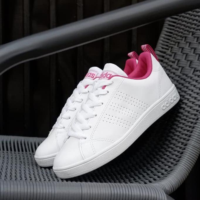 Stok Baru Sepatu Santai Adidas Neo Advantec Valstripes Black Pink Original  Bnwb Murah. 6ed89f356c