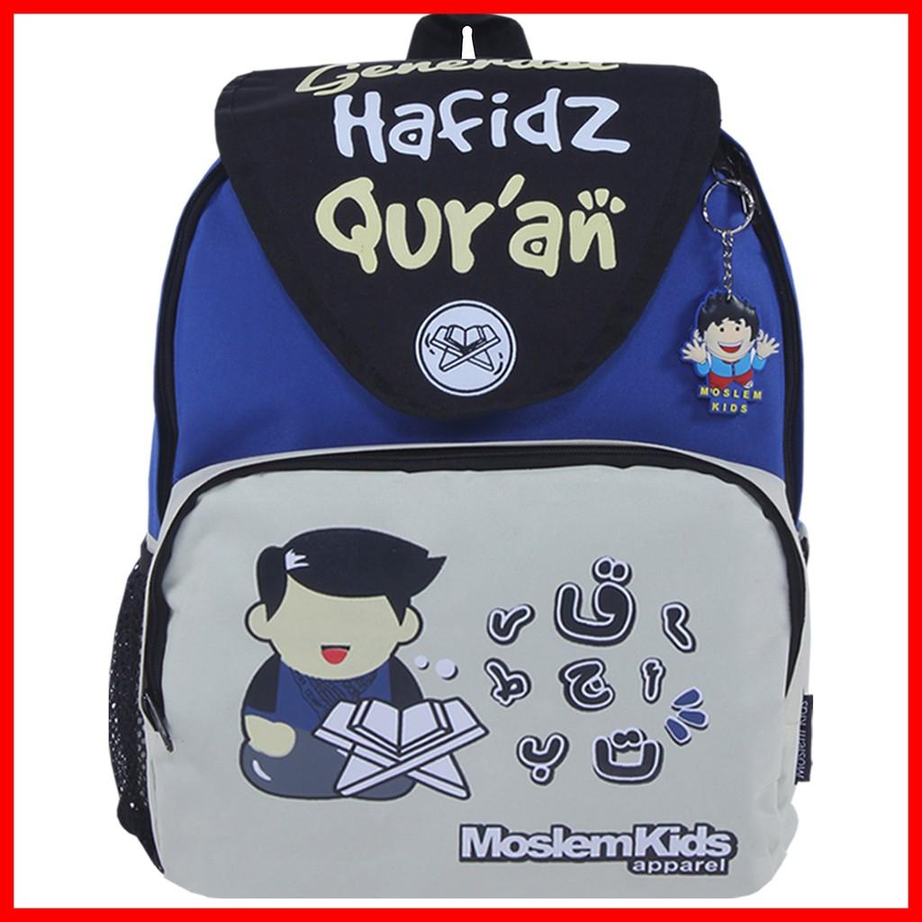 Gratis Raincover : Tas Ransel anak sekolah Generasi Hafidz Ori Moslem Kids | Shopee Indonesia