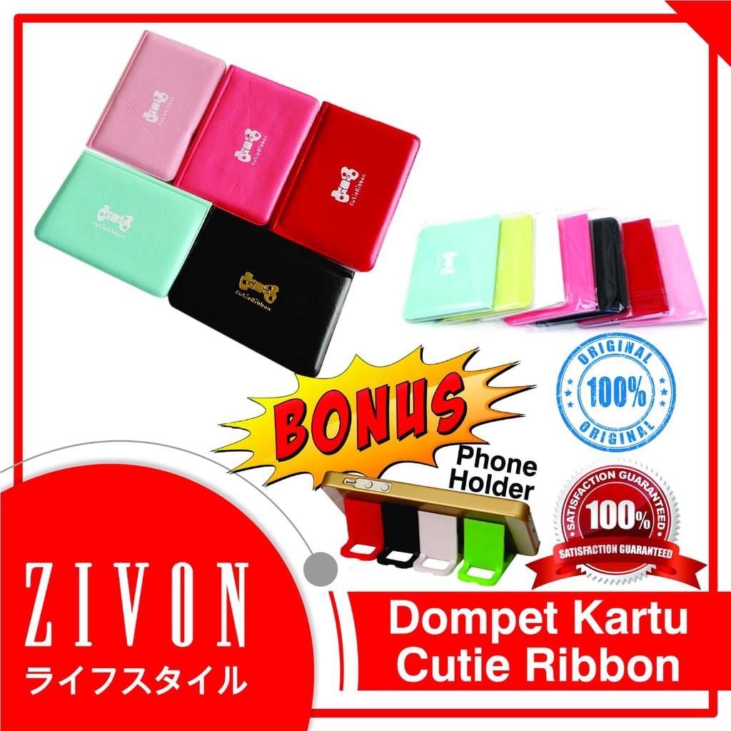 Dompet Kartu Nama Atm Motif Cute Ribbon Isi 12 Yzf10 Aluminium Anti Air Card Holder Caddy Hhm132 Shopee Indonesia