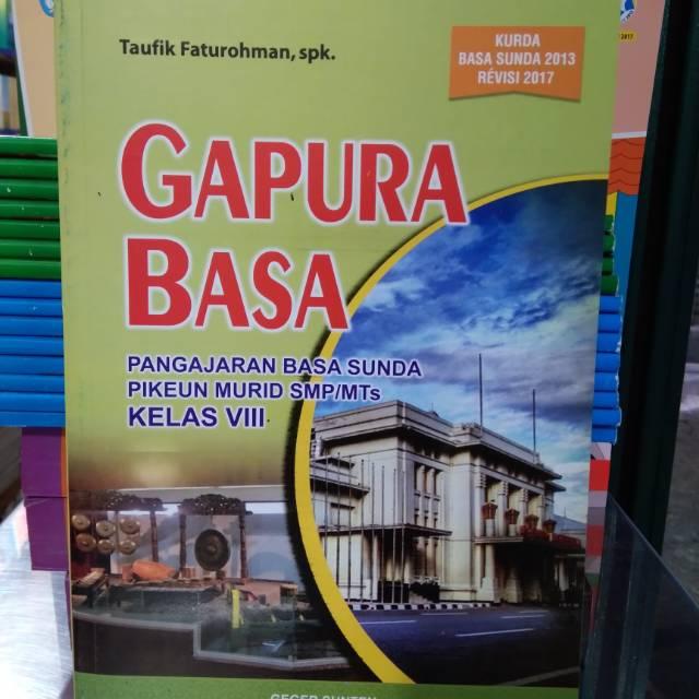 Buku Gapura Basa Kelas Viii Bahasa Sunda Kelas 2 Smp Shopee Indonesia
