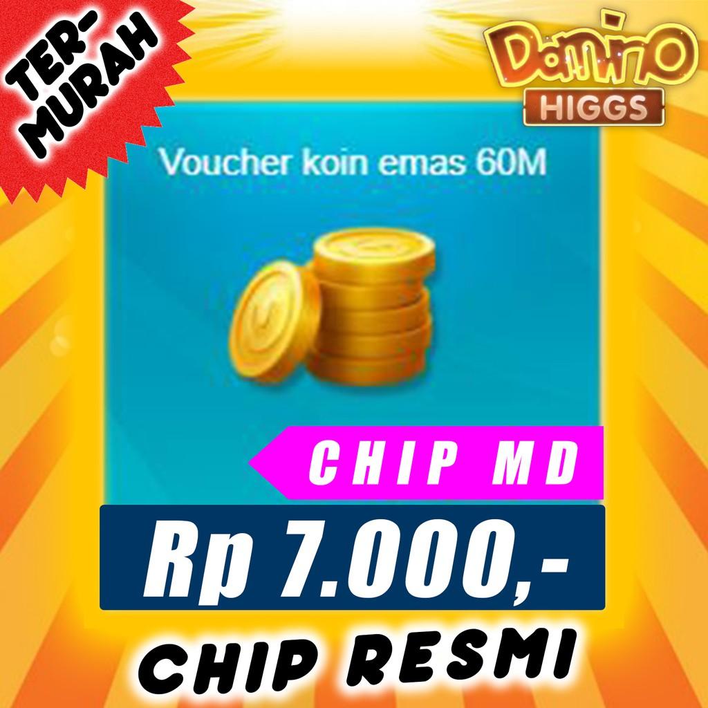 CHIP DOMINO HIGGS - CHIP MD 60M - CHIP HIGGS DOMINO 60M - CHIP DOMINO 60M MD
