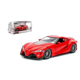 Toyota Ft 1 >> Jada 1 24 Jdm Tuners Toyota Ft 1 Concept Red