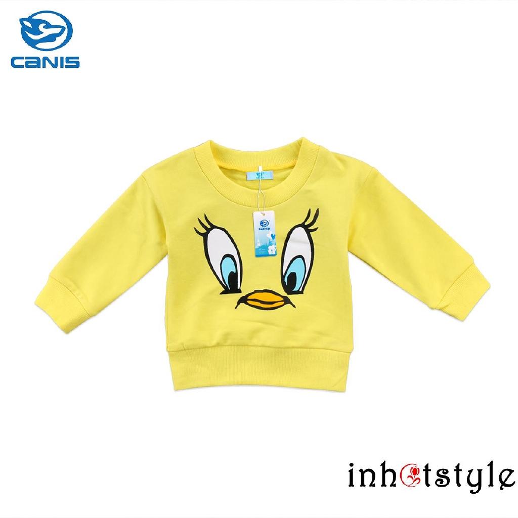 Sweater Kaos Casual Bayi Anak Laki Laki Perempuan Gambar Kartun