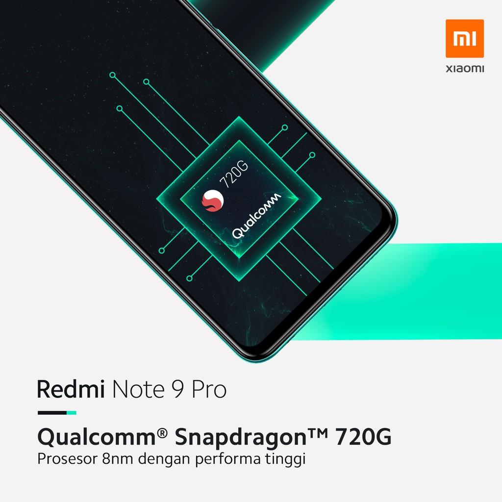 Xiaomi Redmi Note 9 Pro 8gb 128gb Snapdragon720g 5020mah Shopee Indonesia