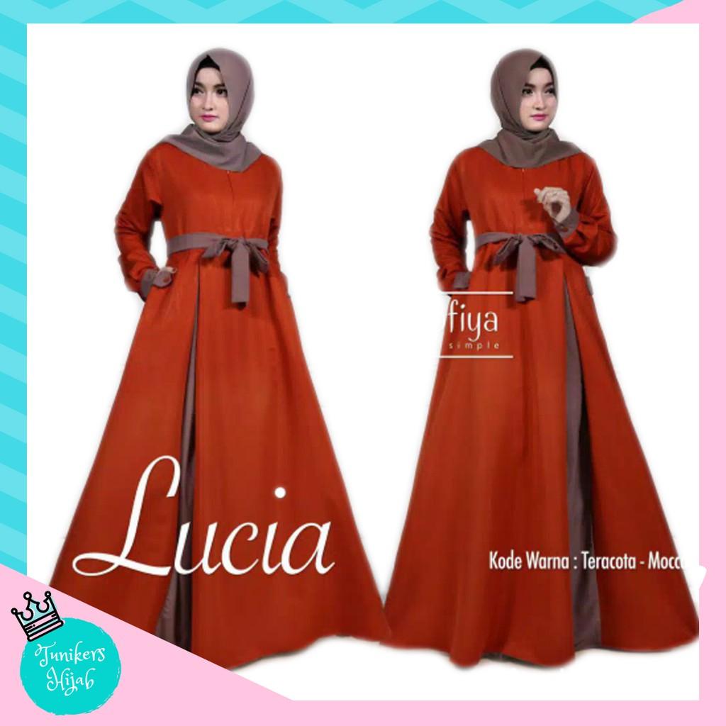 Ab Agen Baju Official Shop Maxi Emma Gamis Busana Muslim Wanita 23 Gamia Model Kekinian Pakaian Murah Katun Aja Shopee Indonesia