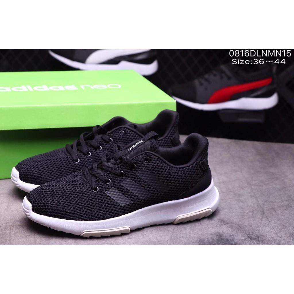Sepatu Sneakers Olahraga Pria Model Adidas CF cloudfoam untuk Lari