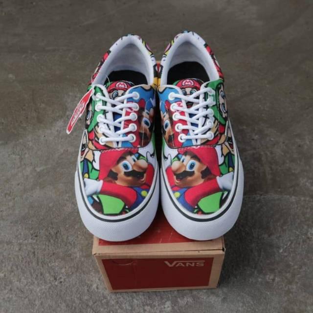 Sepatu Vans Sk8 Casual Sneakers Grade Original Pria Murah Cowok Sekolah  Keren Kets Gaya Santai  b39940549e