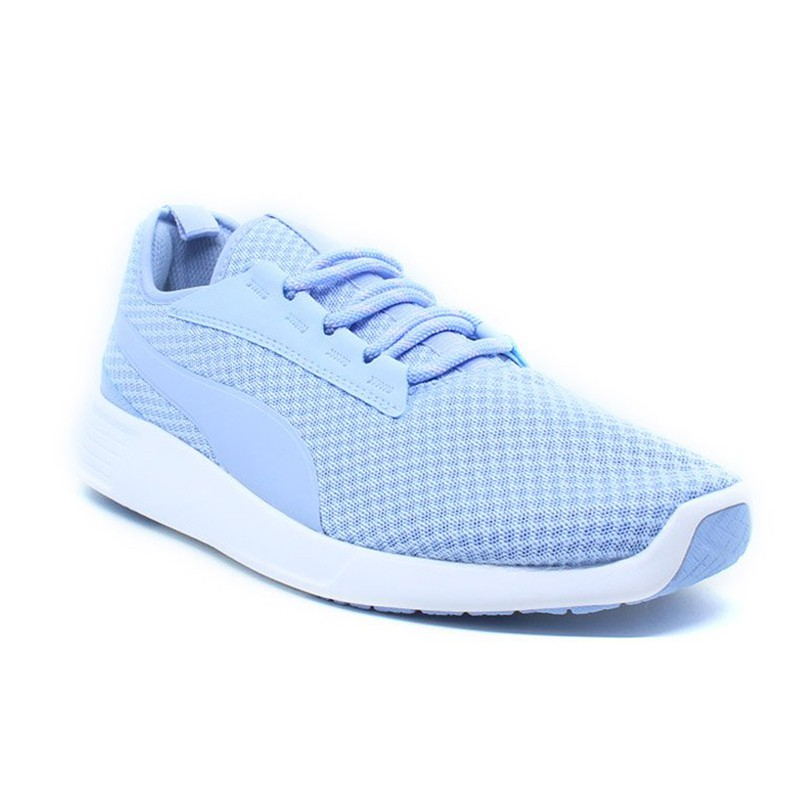 Sepatu Olahraga Lari Senam Gym Puma ST Trainer Evo V2 Women's Running Blue 36374219
