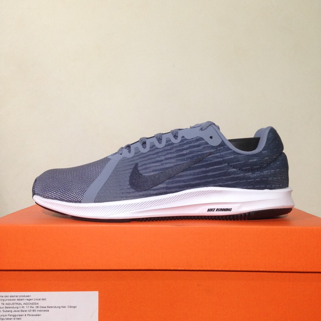 Sepatu Running/Lari Nike Downshifter 8 M MIdnight Navy 908984-400 Original BNIB | Shopee Indonesia