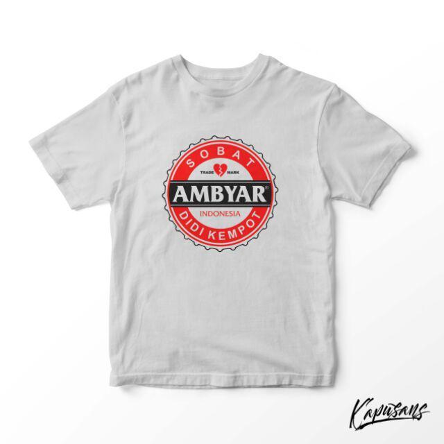 032 Kaos Kapusans Sobat Ambyar Indonesia Shopee Indonesia