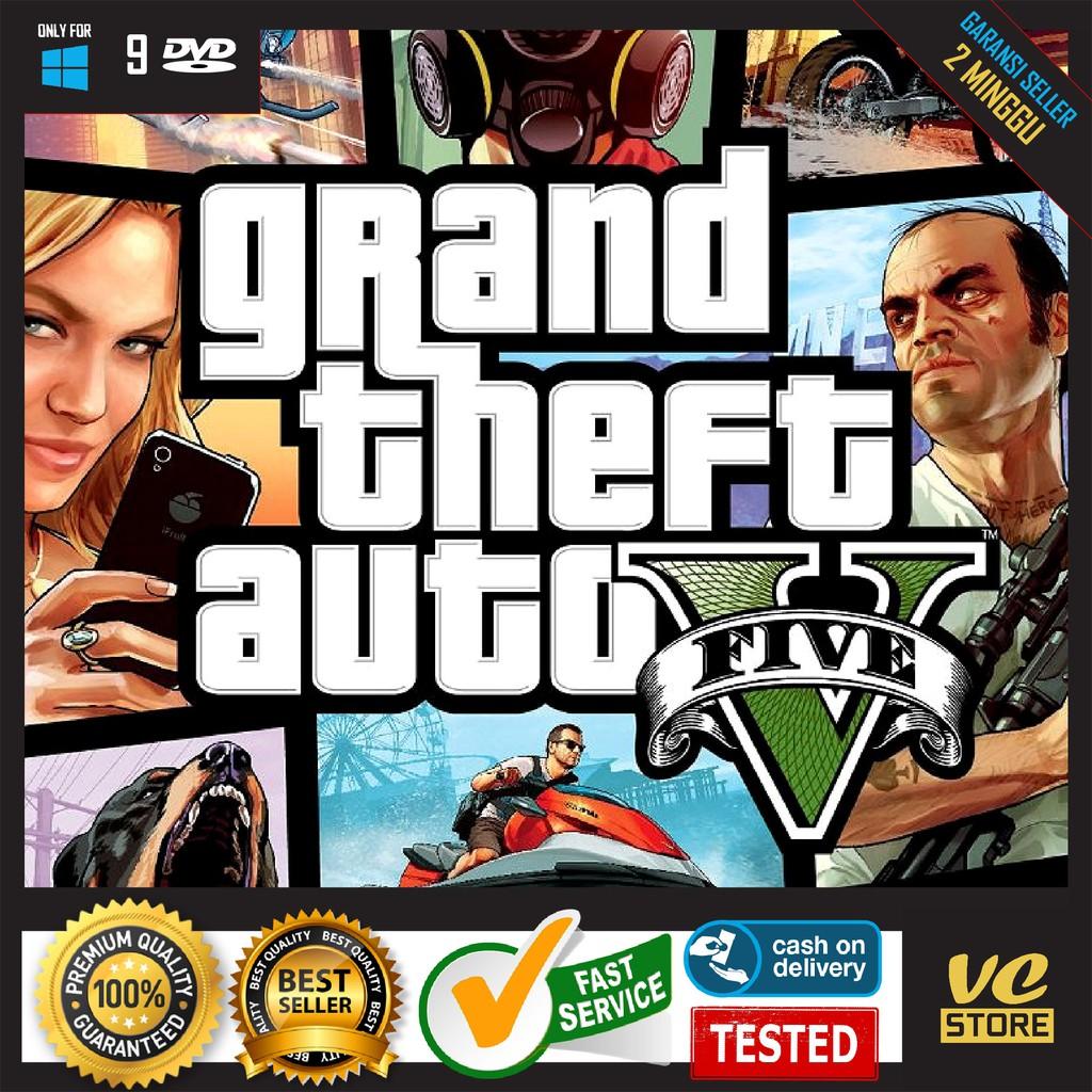 GTA 5 GTA V GAME PC LAPTOP KASET