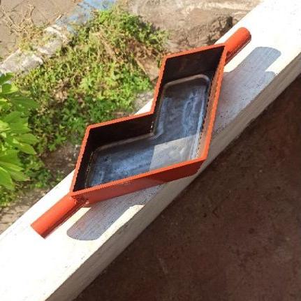 cetakan paving 3d / cetakan paving V / cetakan paping blok tiga dimensi / alat cetak paving