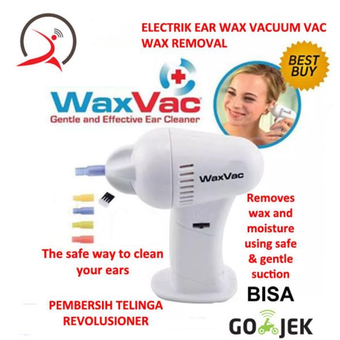 Electric Ear Wax Vacuum Vac Wax Removal Pembersih Telinga | Shopee Indonesia