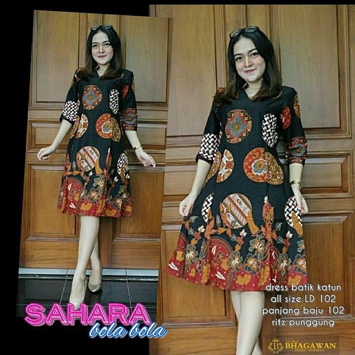 Dress Batik Super Jumbo Dress Batik Sutra Dress Batik Unik Dress Batik Ukuran Jumbo