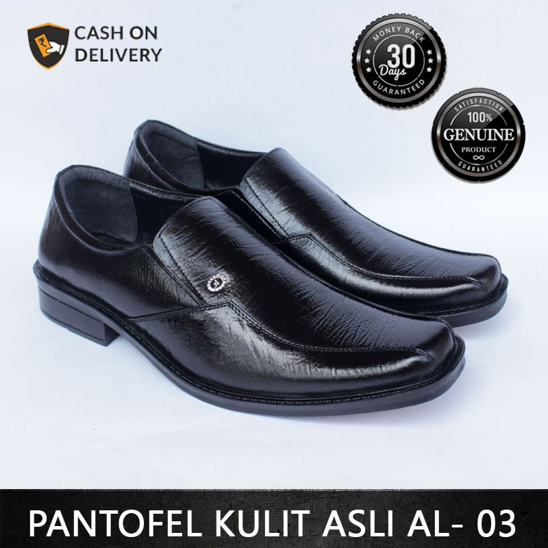 Sepatu Pantofel Pria Sepatu Kantor Sepatu Formal Bahan 100