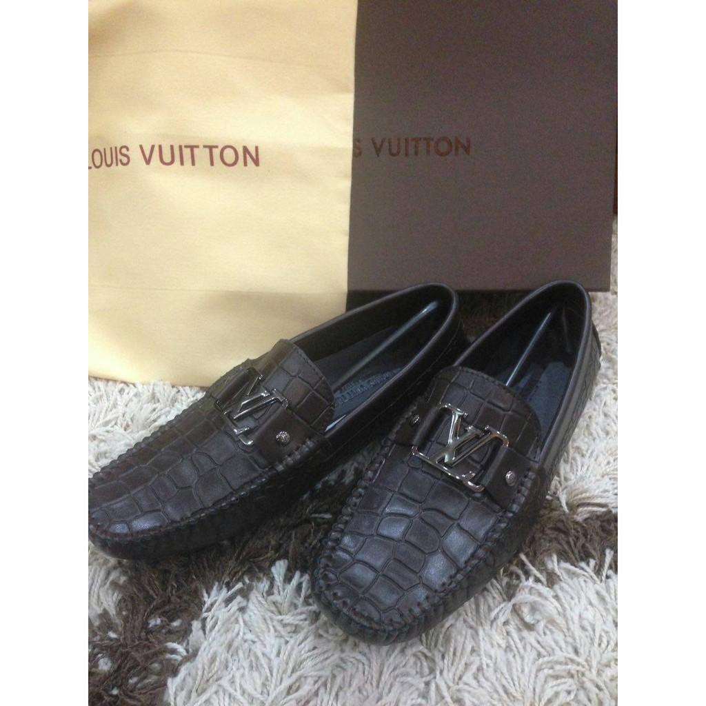 5e9c503db36 Promo sepatu loafers pria kulit import sp274 Putih 43 Sepatu Loafers ...